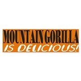 Gorilla Bumper Sticker