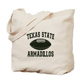 Texas State Armadillos Tote Bag