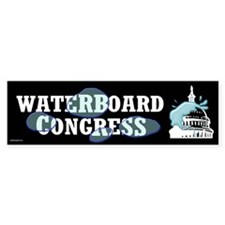 Waterboard Congress Bumper Sticker (10 pk)