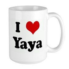 I Love Yaya Ceramic Mugs