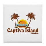 Captiva Island FL Tile Coaster