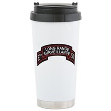 E Co 51st Infantry LRS Scroll Ceramic Travel Mug