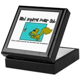 Grover Graphics - Blind Squirrel Keepsake Box