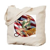Cute Pinup Tote Bag
