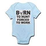 BORN TO HUNT Infant Bodysuit