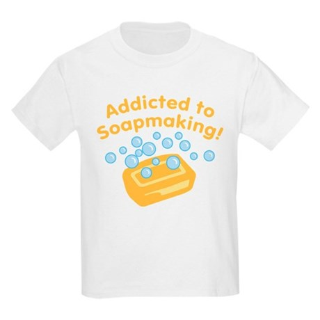 Addicted to Soap Craft Kids Light T-Shirt
