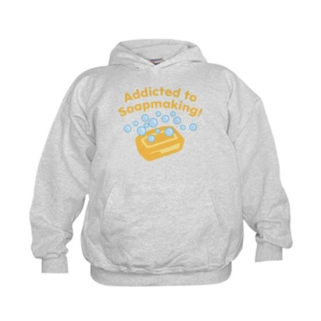 Addicted to Soap Craft Kids Hoodie
