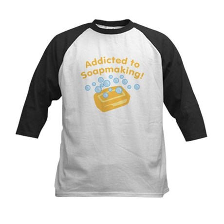 Addicted to Soap Craft Kids Baseball Jersey