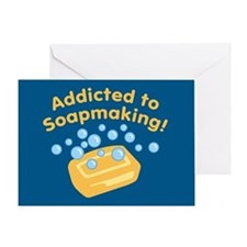 Addicted to Soap Craft Greeting Card
