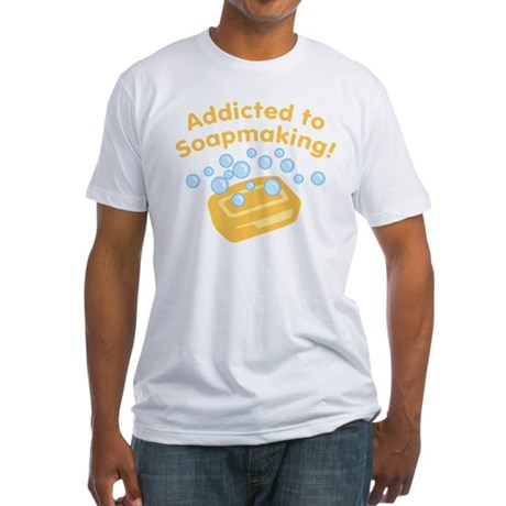 Addicted to Soap Craft Fitted T-Shirt