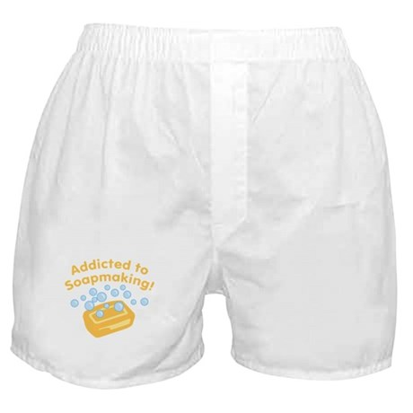 Addicted to Soap Craft Boxer Shorts