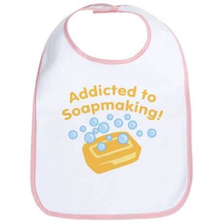Addicted to Soap Craft Bib