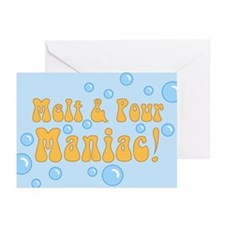 Melt And Pour Maniac Greeting Cards (Pk of 10)