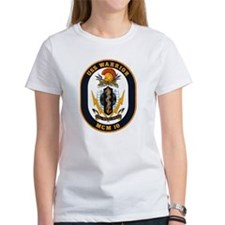 USS Warrior MCM 10 US Navy Ship Tee