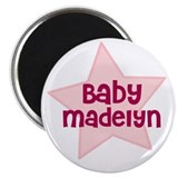 "Baby Madelyn 2.25"" Magnet (10 pack)"