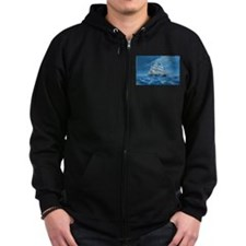 Clipper Flying Cloud Zip Hoodie