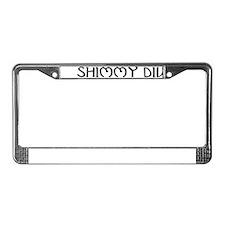 Shimmy Diva License Plate Frame