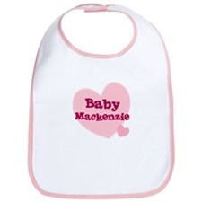 Cute Mackenzie girl Bib