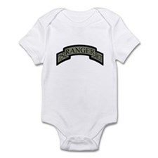 75th Ranger Regt Scroll ACU Infant Bodysuit