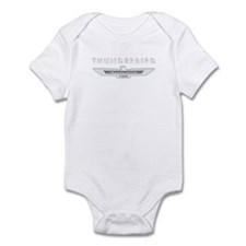 Ford Thunderbird Logo w Type Chrome Infant Bodysui