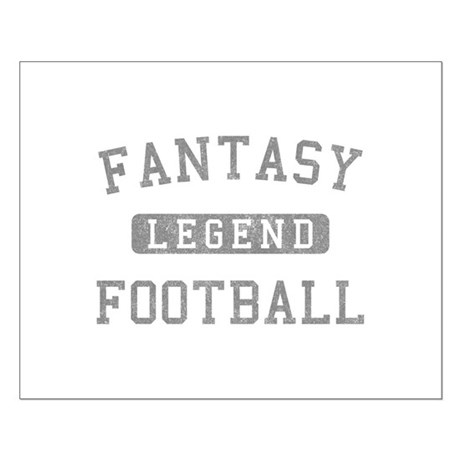 Fantasy Football Legend Small Poster