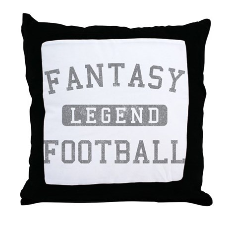 Fantasy Football Legend Throw Pillow