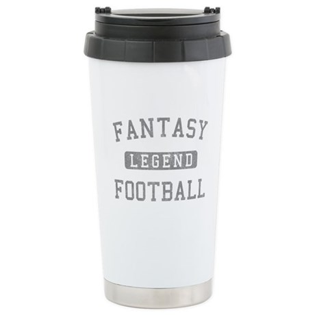 Fantasy Football Legend Stainless Steel Travel Mug
