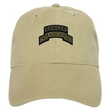 75th Ranger Regt Scroll with Baseball Cap