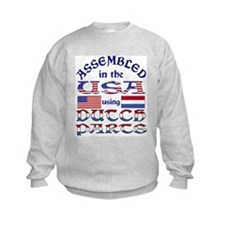 USA/Dutch Parts Sweatshirt