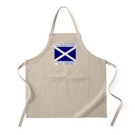 Scottish Blood & Whisky St. A BBQ Apron