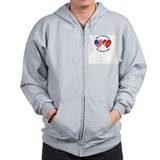 Turkey Country Heritage Zip Hoodie
