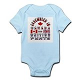 Canadian/British Parts Onesie