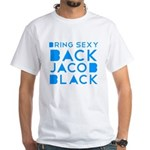Sexy Back Jacob Black White T-Shirt