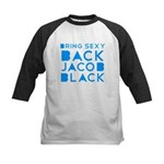Sexy Back Jacob Black Kids Baseball Jersey