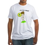Use Your Head Fitted T-Shirt