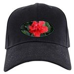 Red Hibiscus Black Cap
