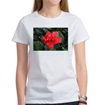 Red Hibiscus Women's T-Shirt