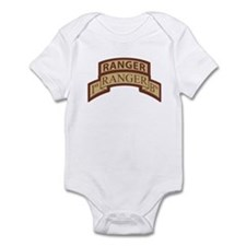 1st Ranger Bn Scroll/ Tab Des Infant Bodysuit
