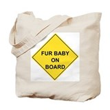 Cute Caution bumps Tote Bag