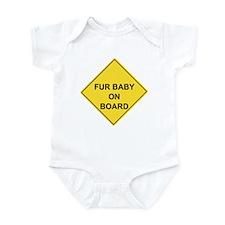 Funny Baby bump Infant Bodysuit