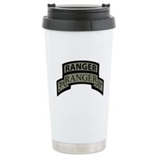 3rd Ranger Bn Scroll/Tab ACU Ceramic Travel Mug