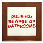 Rule #2 Framed Tile