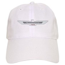 Ford Thunderbird Emblem Chrome Baseball Cap
