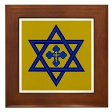 Unique Yeshua hamashiach Framed Tile