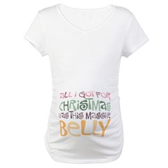 Massive Belly Maternity T-Shirt
