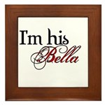 I'm his Bella Swan Framed Tile