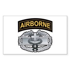 Combat Medic Badge with Airbo Rectangle Decal