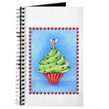 Christmas Tree Cupcake Journal