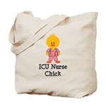 ICU Nurse Chick Tote Bag