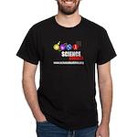 Science Buddies Black T-Shirt